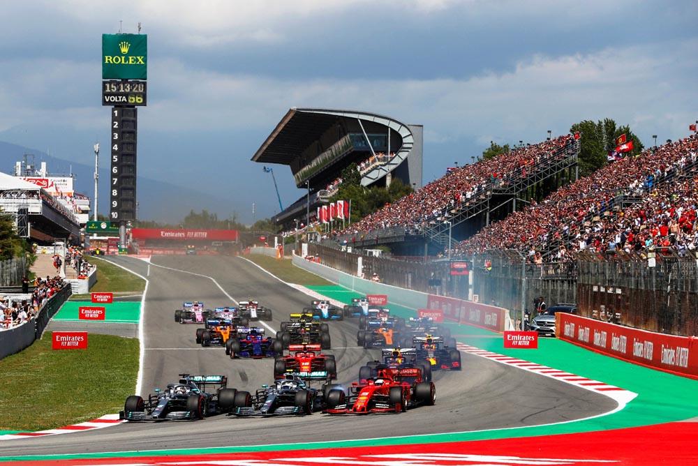 Lewis Hamilton vence o GP da Espanha de F-1 e assume a liderança do campeonato