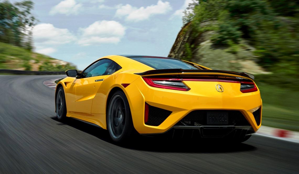 Acura Nsx 2020 Estreia Nova Cor Inspirada Na Tradicao O Indy Yellow Pearl Sao Paulo Shimbun