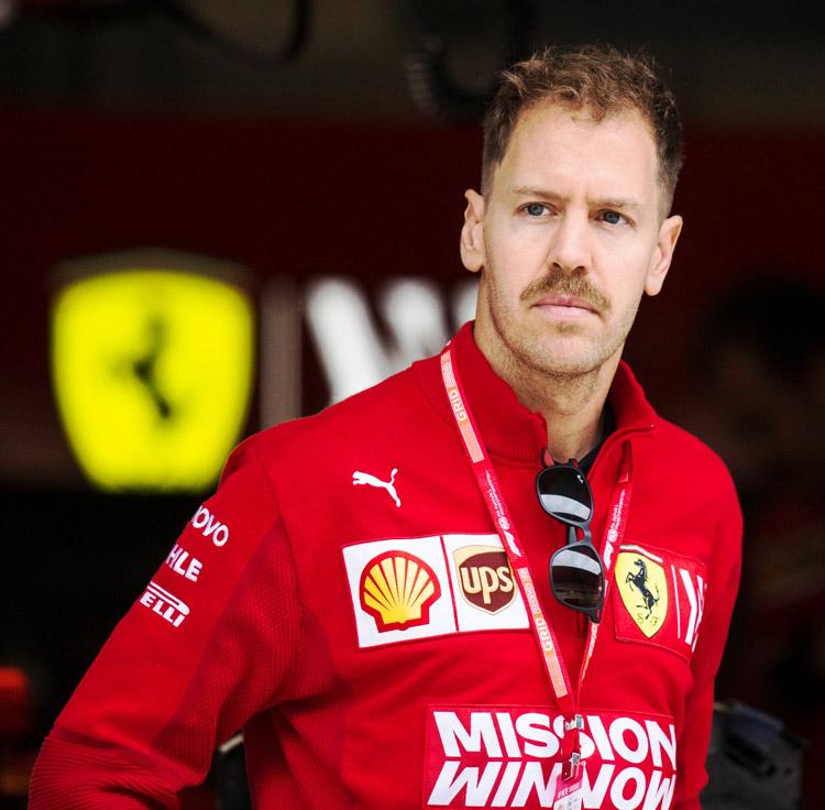Ferrari não renova contrato com Sebastian Vettel