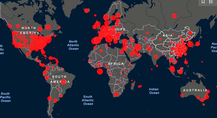 Brasil acumula 26.754 vítimas fatais pela Covid-19